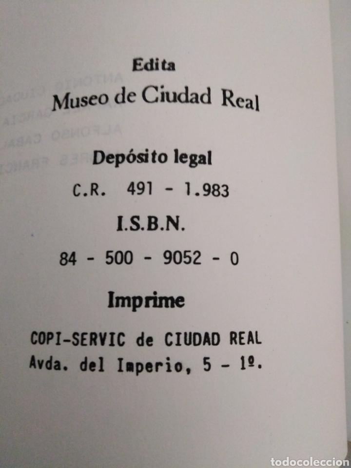 Libros de segunda mano: Materiales paleolíticos de el sotillo, museo de Ciudad Real, 1983 - Foto 4 - 224788162