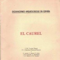 Libros de segunda mano: J. Mª. LUZÓN NOGUÉ. EL CAUREL. LUGO. Lote 231445225