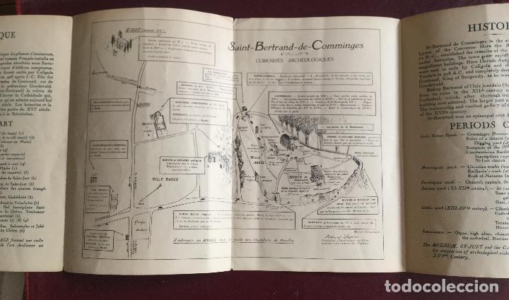 Libros de segunda mano: SAINT-BERTRAND DE COMMINGES - LUCHON HAUTE-GARONNE - GUIDE ARCHEOLOGIQUE ET PLAN - DESPLEGABLE 19x12 - Foto 2 - 235043945