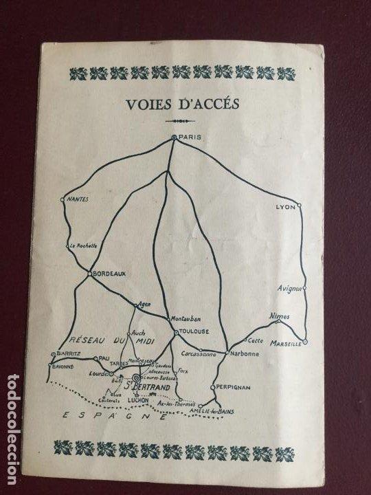 Libros de segunda mano: SAINT-BERTRAND DE COMMINGES - LUCHON HAUTE-GARONNE - GUIDE ARCHEOLOGIQUE ET PLAN - DESPLEGABLE 19x12 - Foto 3 - 235043945