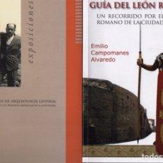 Libros de segunda mano: LOTE LEGIO VII GEMINA (LEÓN ROMANO). Lote 236001525