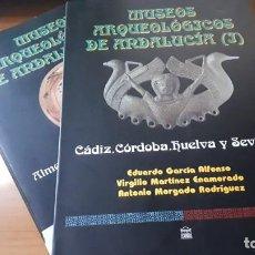 Libros de segunda mano: MUSEOS ARQUEOLÓGICOS DE ANDALUCÍA - TOMOS I (1995) Y II (1999) - EDT. ÁGORA.. Lote 237851325