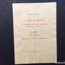 Libros de segunda mano: EL POBLADO IBÉRICO DE LA BASTIDA DE LES ALCUSES. 50 ANIVERSARIO DE LA FUNDACIÓN. Lote 240956820