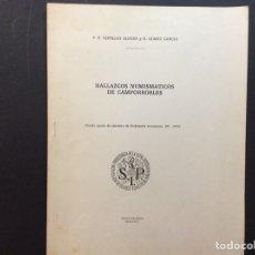 Libros de segunda mano: HALLAZGOS NUMISMÁTICOS DE CAMPORROBLES. Lote 243102005