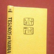 Libros de segunda mano: TESOROS DE NUBIA - EXPEDICION ARQUEOLOGICA A EGIPTO Y SUDAN. Lote 248291350