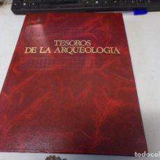 Libros de segunda mano: TESOROS DE LA ARQUEOLOGÍA-SALVAT, AÑO 1986. Lote 252180545