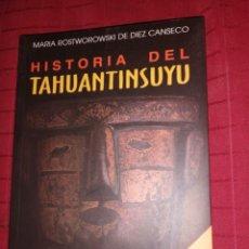 Libri di seconda mano: HISTORIA DE TAHUANTINSUYU. NUEVA EDICIÓN - ROSTWOROWSKI DE DIEZ CANSECO, MARÍA. Lote 254646975