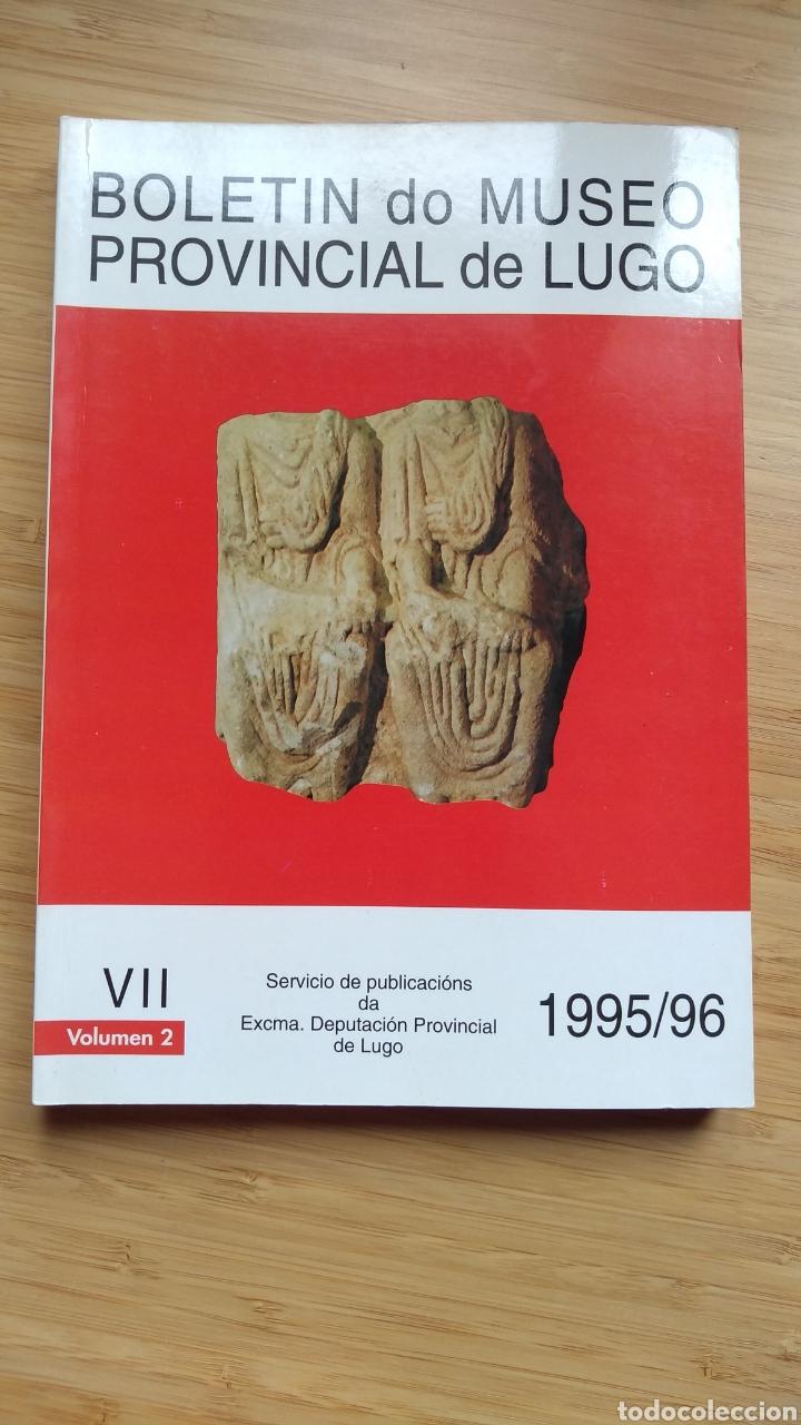 BOLETIN DO MUSEO PROVINCIAL DE LUGO TOMO VII VOLUMEN II (1995/96) - VVAA (Libros de Segunda Mano - Ciencias, Manuales y Oficios - Arqueología)
