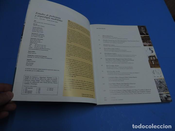 Libros de segunda mano: ESTUDIOS DE PREHISTORIA Y ARQUEOLOGÍA MADRILEÑAS. NÚMERO HOMENAJE A J. PÉREZ DE BARRADAS - Foto 3 - 260327055