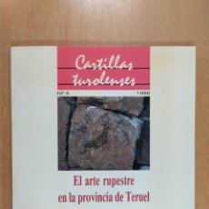 Libros de segunda mano: EL ARTE RUPESTRE EN LA PROVINCIA DE TERUEL / ANTONIO BELTRÁN MARTÍNEZ / CONTIENE 6 DIAPOSITIVAS. Lote 261322905