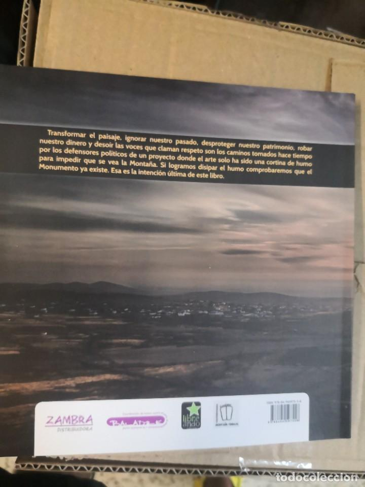 Libros de segunda mano: Libro Tindaya, el monumento ya existe Zambra / Baladre - Foto 2 - 268821869