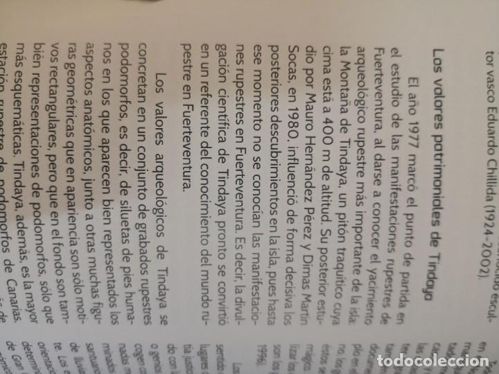 Libros de segunda mano: Libro Tindaya, el monumento ya existe Zambra / Baladre - Foto 6 - 268821869