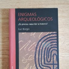 Libros de segunda mano: ENIGMAS ARQUEOLÓGICOS - LUC BÜRGIN. Lote 269611923