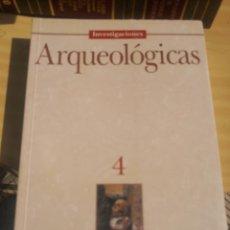 Libros de segunda mano: INVESTIGACIONES ARQUEOLÓGICAS Nº 4 - ARQUEOLOGÍA DE CANARIAS - ILUSTRADO. Lote 271042278
