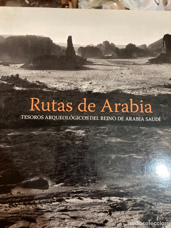 Libros de segunda mano: Libro rutas de Arabia - Foto 2 - 275778343