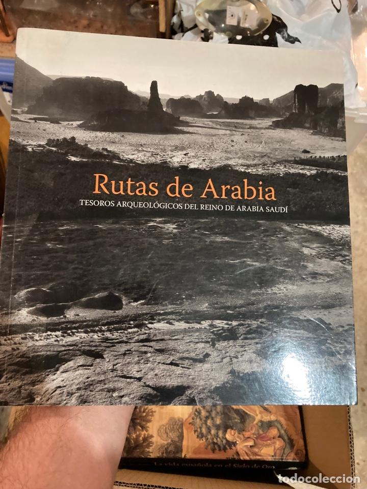 LIBRO RUTAS DE ARABIA (Libros de Segunda Mano - Ciencias, Manuales y Oficios - Arqueología)