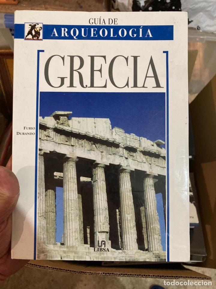 GUÍA DE ARQUEOLOGÍA DE GRECIA (Libros de Segunda Mano - Ciencias, Manuales y Oficios - Arqueología)