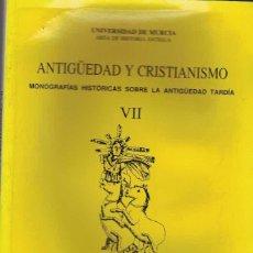 Libros de segunda mano: VARIOS AUTORES. ANTIGÜEDAD Y CRISTIANISMO VII. Lote 276439848