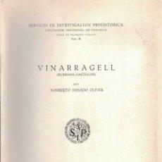 Libros de segunda mano: NORBERTO MESADO OLIVER. VINARRAGELL. BURRIANA-CASTELLÓN. Lote 276624108