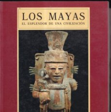 Libros de segunda mano: LOS MAYAS, ESPLENDOR DE UNA CIVILIZACIÓN - CENTRO CULTURAL VILLA MADRID, ETNOLOGIC BARCELONA 1992. Lote 278485478