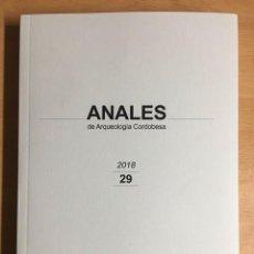 Libros de segunda mano: ANALES DE ARQUEOLOGÍA CORDOBESA. Nº 29. 2018. Lote 278704963
