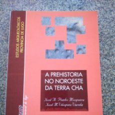 Libros de segunda mano: A PREHISTORIA NO NOROESTE DA TERRA CHA -- VARIOS AUTORES -- LUGO 1995 --. Lote 288714378