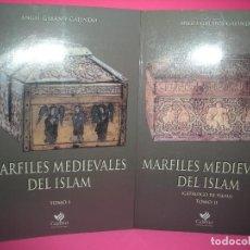 Libros de segunda mano: MARFILES MEDIEVALES DEL ISLAM - 2 TOMOS - ( ENVIO INCLUIDO EN LA PUJA ). Lote 293690573