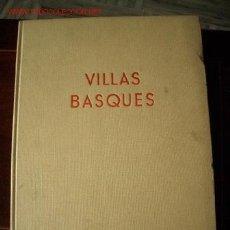 Libros de segunda mano: ARQUITECTURA, CASAS VASCAS. Lote 21920590
