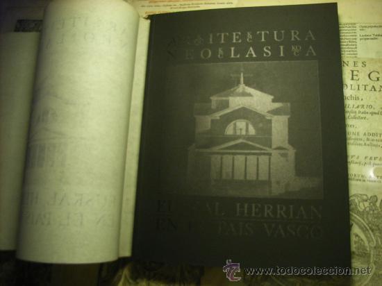 Libros de segunda mano: Libro -Arquitectura neoclásica en el País Vasco- edición bilingüe - Foto 3 - 12457717