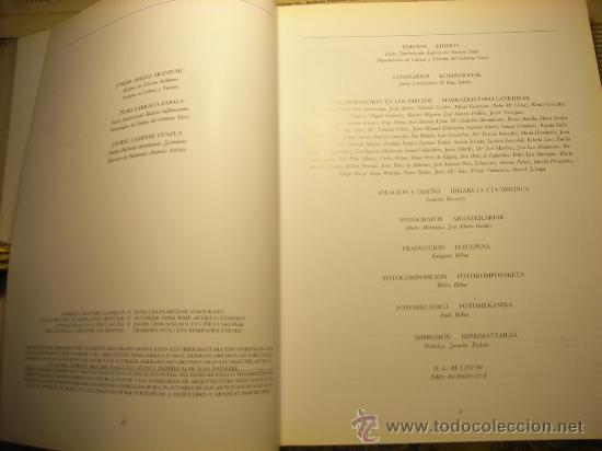 Libros de segunda mano: Libro -Arquitectura neoclásica en el País Vasco- edición bilingüe - Foto 5 - 12457717