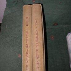 Libros de segunda mano: LA CAPILLA SIXTINA DEL VATICANO. Lote 27615831