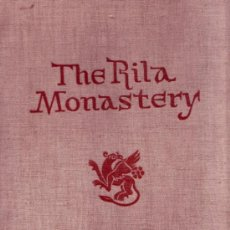 Libros de segunda mano: THE RILA MONASTERY . HRISTOV, PROF HRISTO; ARCH. GEORGI STOJKOV AND ACAD. KRASTJU MIJATEV.. Lote 26188365