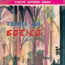 Libros de segunda mano: CARLOS ANTONIO AREAN. TEORÍA DEL GÓTICO. MADRID, 1961.. Lote 17522501