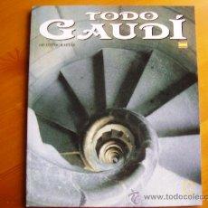 Libros de segunda mano: LIBRO TODO GAUDI. ¡NUEVO! CON MUCHÍSIMAS FOTOGRAFÍAS. MUY ALTA CALIDAD. Lote 26807978