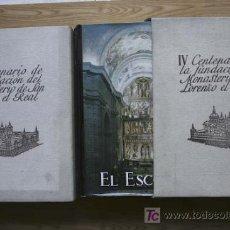 Libros de segunda mano: EL ESCORIAL. 1563-1963. IV CENTENARIO DE LA FUNDACIÓN DEL MONASTERIO DE SAN LORENZO EL REAL.. Lote 24466732