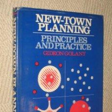 Libros de segunda mano: NEW-TOWN PLANNING. PRINCIPLES AND PRACTICE, POR GIDEON GOLANY. ARQUITECTURA, URBANISMO, 1976. Lote 23791562