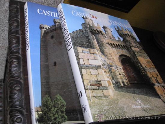 CASTILLOS DE ESPAÑA 2 VOLS - EDI RAYUELA - PERFECTOS 1993 33 X 25CM 3 .2KILOS CORREOS 5.30€ (Libros de Segunda Mano - Bellas artes, ocio y coleccionismo - Arquitectura)