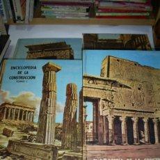 Libros de segunda mano: ENCICLOPEDIA DE LA CONSTRUCCION 4 TOMOS JOAQUÍN DEL SOTO ARQUITECTURA EN LA HISTORIA 1960 RM44929. Lote 26598996