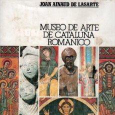 Libros de segunda mano: MUSEO DE ARTE DE CATALUÑA ROMANICO - EDICIONES ORGAZ. Lote 24951273
