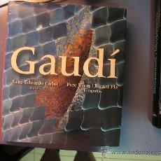 Libros de segunda mano: GAUDÍ - CIRLOT, JUAN EDUARDO (FOTOGRAFIAS PERE VIVAS Y RICARD PLA) AÑO 2002. Lote 27481658