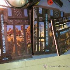 Libros de segunda mano: MODERNISME I MODERNISTES - BORJA DE RIQUER I PERMANYER,. Lote 27481729