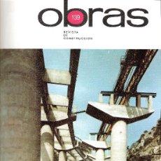 Libros de segunda mano: OBRAS. REVISTA DE CONSTRUCCIÓN. AGROMAN. Nº 139. ORTIZ-ECHAGÜE.TERESIANAS.S. MARTIN FROMISTA...... Lote 27984098