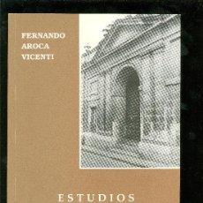 Libros de segunda mano: ESTUDIOS PARA LA ARQUITECTURA Y URBANISMO DEL SIGLO XVIII EN JEREZ. FERNANDO AROCA VICENTI. 21X21.. Lote 28076901