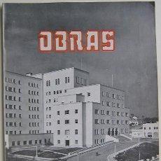 Libros de segunda mano: OBRAS. Nº 80. 1953. EL SALTO DE SALIME. JARDINES DE SABATINI. FERIA INTERNACIONAL CAMPO. PABELLONES.. Lote 28228393