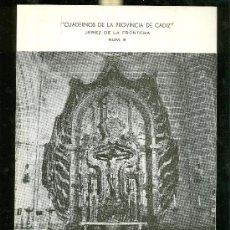 Libros de segunda mano: LA CATEDRAL DE JEREZ. EXPOSICION POR JOSE L. REPETTO BETES. 2ª EDICION. 1984.. Lote 28422455
