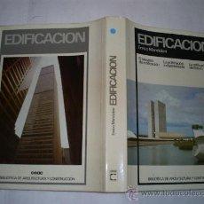 Libros de segunda mano: EDIFICACIÓN EL PROCESO DE EDIFICACIÓN LA EDIFICACIÓN INDUSTRIALIZADA Y DEL FUTURO RM53221. Lote 28613531
