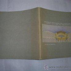 Libros de segunda mano: CONCURSO DE ANTEPROXECTOS PARA A ADAPTACIÓN CUARTEL DO HÓRREO SEDE PARLAMENTO DE GALICIA RM53227. Lote 28613578