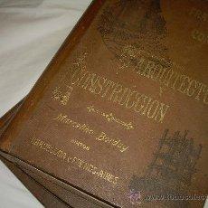Libros de segunda mano: 3 TOMOS...TRATADO COMPLETO DE ARQUITECTURA Y CONSTRUCCION.....DOMINGO SUGRAÑES.. Lote 29310406
