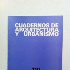 Libros de segunda mano: REVISTA ARQUITECTURA CUADERNOS DE ARQUITECTURA Y URBANISMO ANUARIO 1975. Lote 30420224