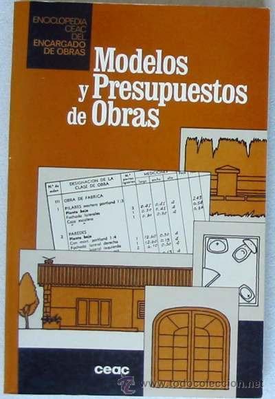 Modelos y presupuestos de obras enciclopedia comprar - Presupuestos de obras ...
